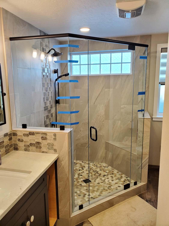 shower doors sunriver